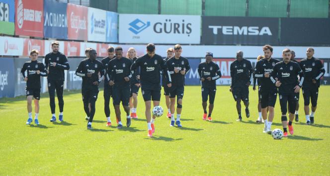 Beşiktaş'ta Başakşehir hazırlıkları devam etti
