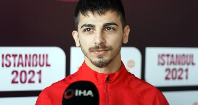 Eray Şamdan: 'Olimpiyata gidip altın madalya kazanmak en büyük hedefim'