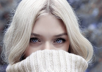 Kışın gözlerimiz de üşür