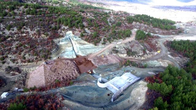 Kuzuköy Barajı'nın yüzde 60'ı tamamlandı